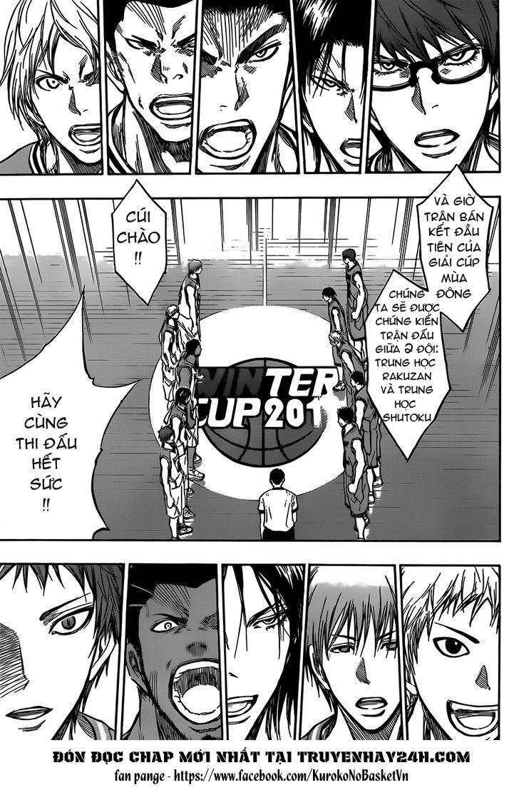 Kuroko No Basket chap 175 trang 13