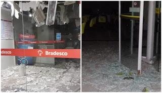 Parelhas é sitiada por bandidos em comboio fortemente armados e dois bancos são explodidos