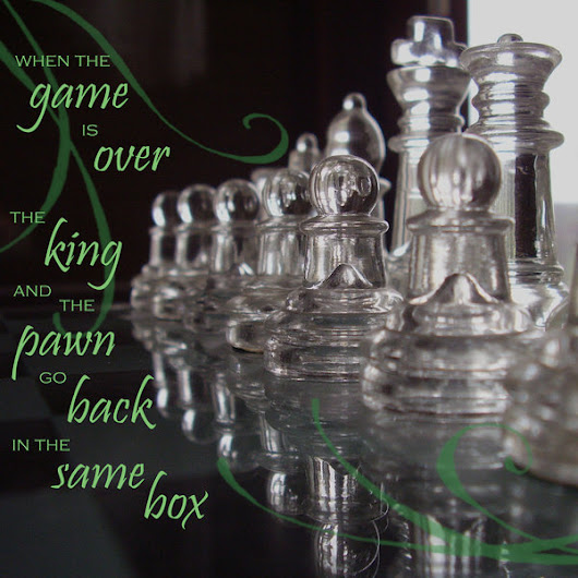 Life is a game; Play it with God - a chess champion's journey_Part 1