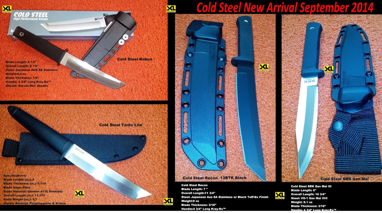 Cold Steel Best Pal Vs Urban Pal Vs Mini Pal Knife