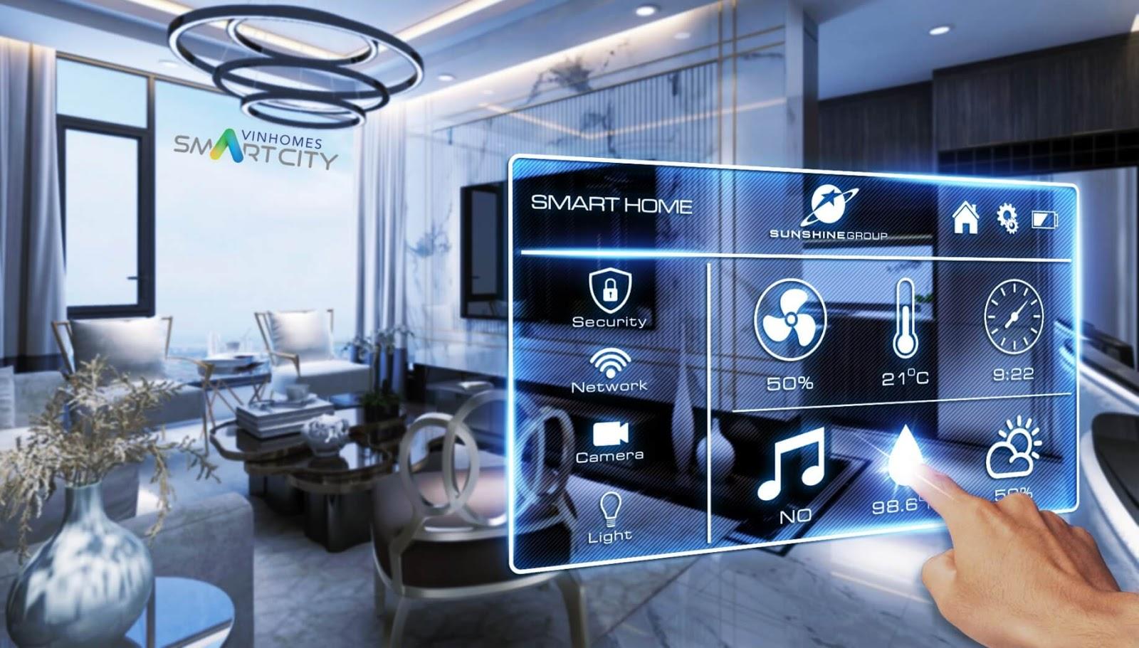 Công nghệ áp dụng tại căn hộ Vinhomes Smart City Tây Mỗ