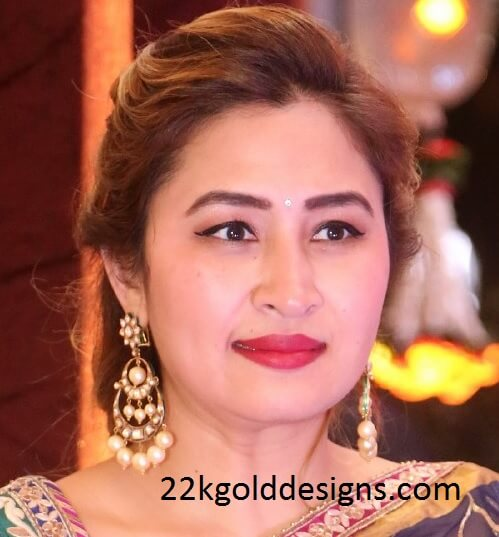 Jwala Gutta in Long Polki Chandbalis