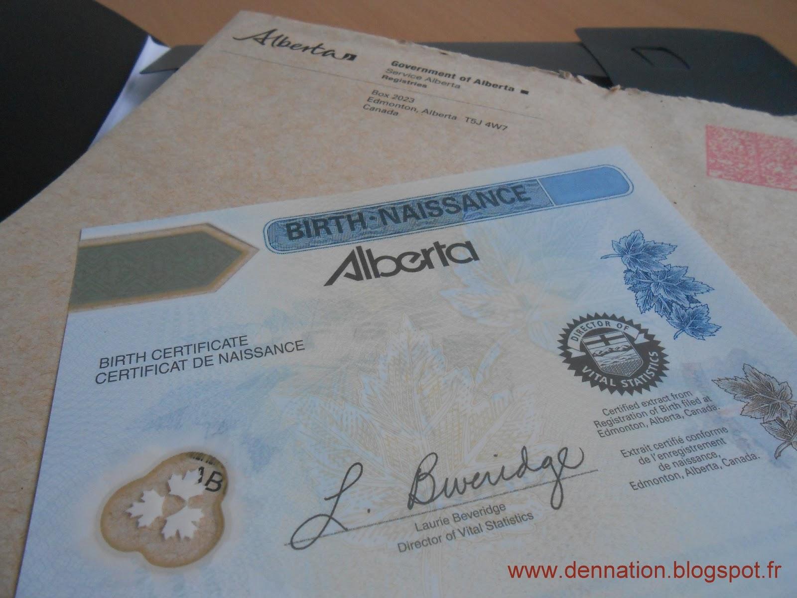 Order Canadian Birth Certificate Free Resume Format Resume Format