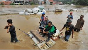 Banjir di Jakarta Ada Lebih Dari 30 Titik Rawan