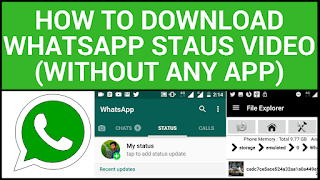 5 ways to download (Save) others whatsapp status video