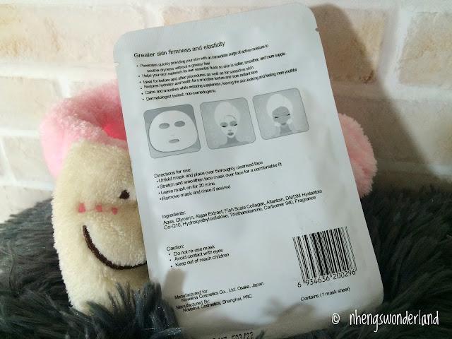 novelina-coenzyme-face-mask