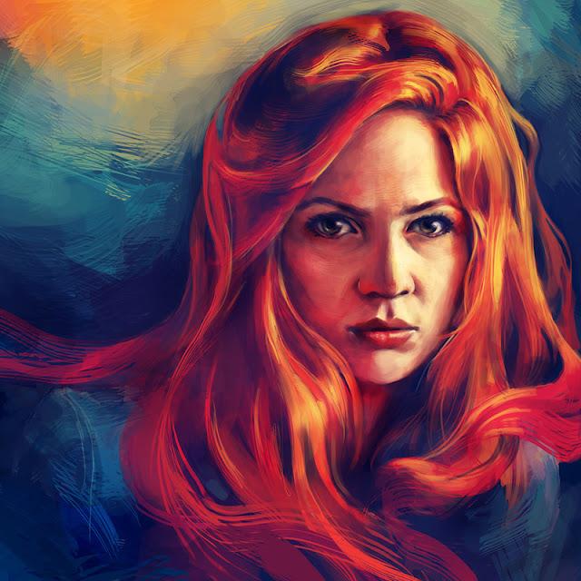 Красивые рисунки Alice X. Zhang