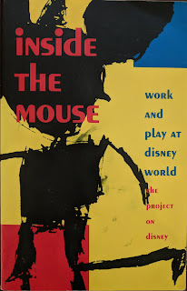 Book cover of Inside the Mouse byThe Project on Disney