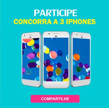 Participe e concorra a 03 Iphones 7 de 32GB