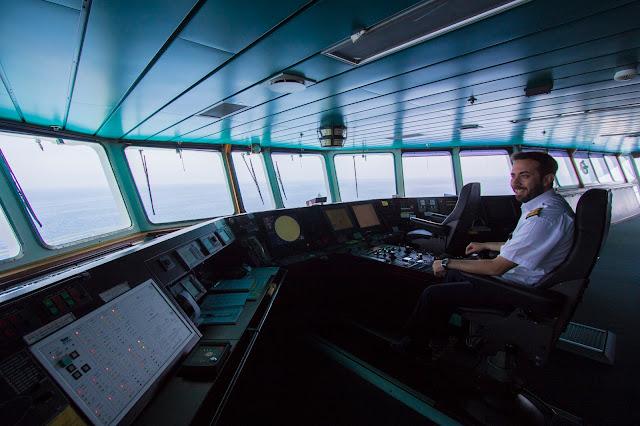 Ponte di comando traghetto Anek Lines