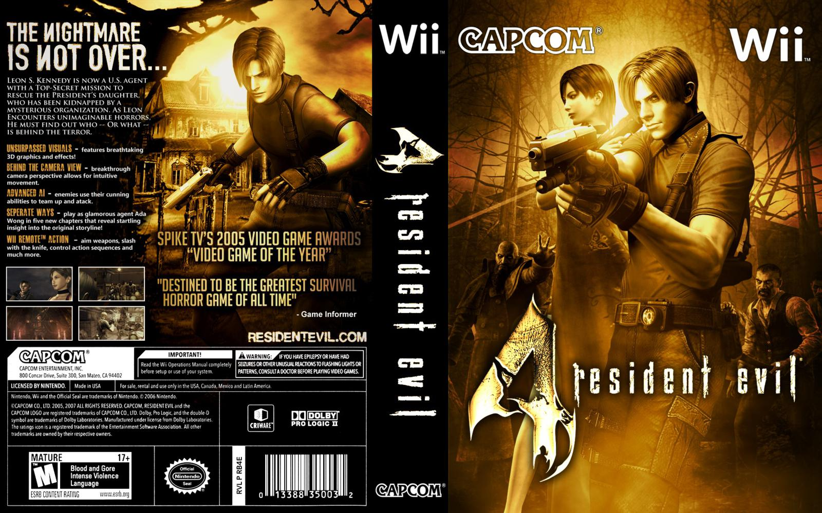 Resident evil 4: wii edition download • wii game iso torrent •.