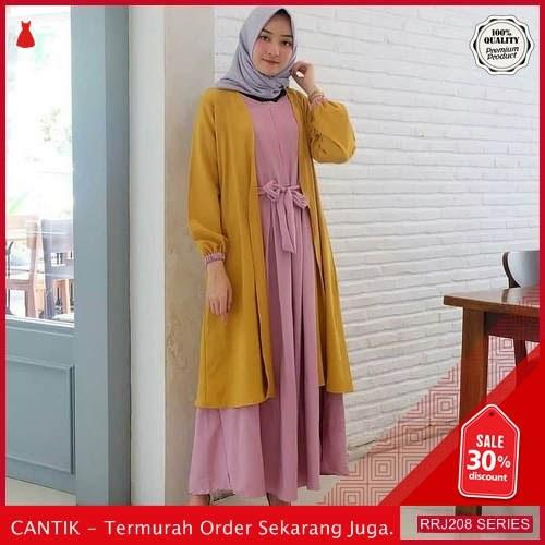 Jual RRJ208D158 Dress Carolin Set Wanita Dua In Satu BMGShop