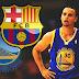 """Curry: """"Há semelhanças entre o Golden State Warriors e o Barcelona"""""""