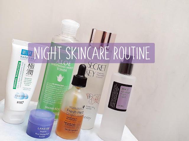 night-skincare-routine