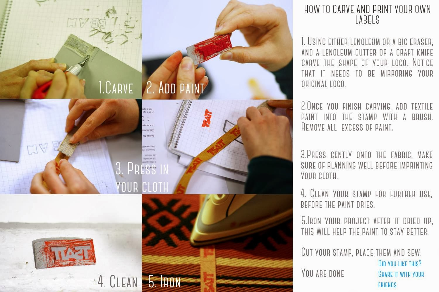 Diy how to make your own cloth tags the sun and the turtle for How to print your own labels