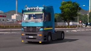 Mercedes Benz MP1 truck mod