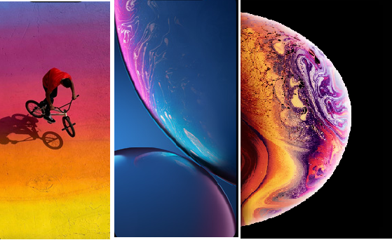 Download The Stock Wallpaper Of Iphone Xs Xs Max And Xr Fixsolo Com