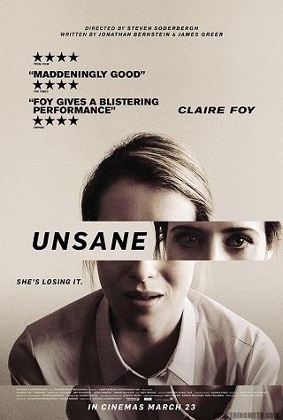 Unsane 2018 English 300MB BRRip ESubs 480p