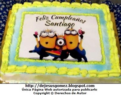Foto de Torta de los Minions para niños por Jesus Gómez