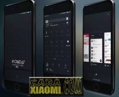 tema GWAD Dark Simple