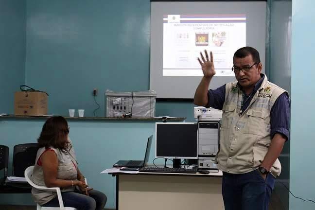 FUNDAÇÃO DE VIGILÂNCIA EM SAÚDE DO AMAZONAS PROMOVE CAPACITAÇÃO EM COARI
