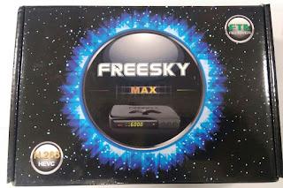 ATUALIZAÇÃO FREESKY MAX STAR ( BUG v 1.62 ) - 25/03/2013