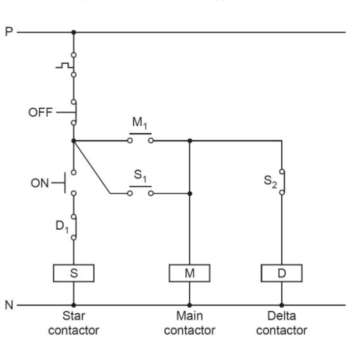 Starting Three Phase Induction Motors Via Star-delta Starter