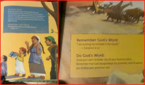 God's Word for Me Bible Storybook sample