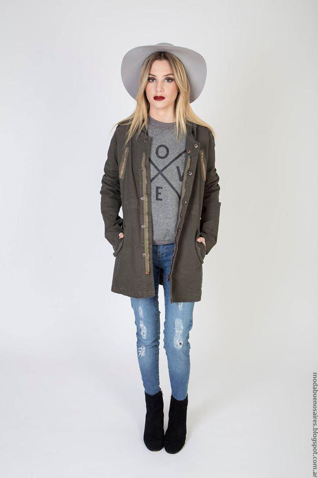 Camperas invierno 2016 ropa de moda Kout.