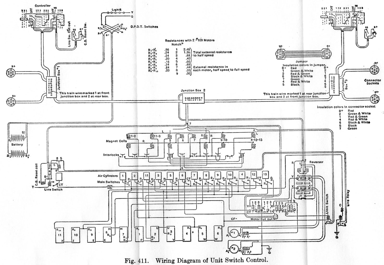 Hicks Car Works Control Circuit Diagrams Wiring Motor Repalcement Parts And Diagram