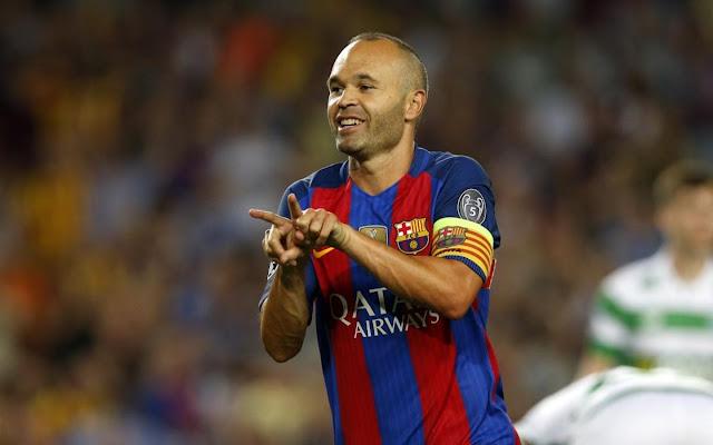 Andres Iniesta Ingin Jadi Pelatih Barcelona