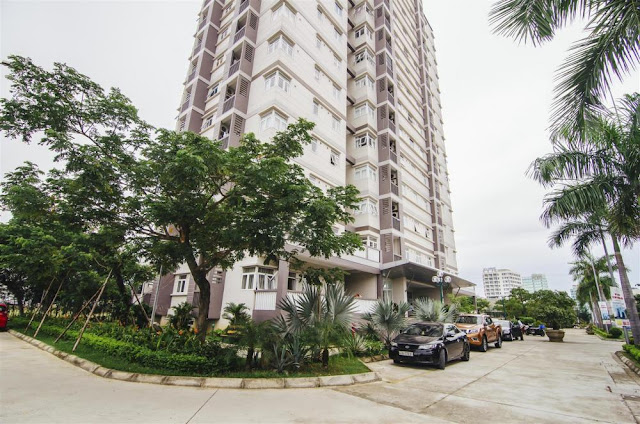 Căn hộ Hamoney Tower Đà Nẵng nằm ngay mặt tiền đường biển Phạm Văn Đồng