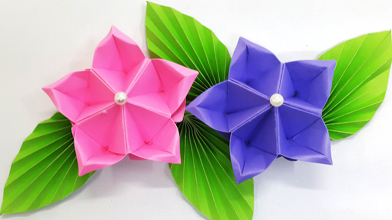 How to Make Origami Flowers ⋆ Dream a Little Bigger | 720x1280