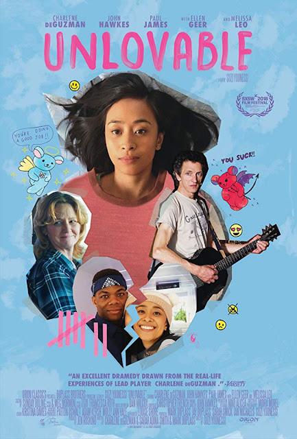 Unlovable 2018 movie poster Charlene deGuzman Melissa Leo John Hawkes