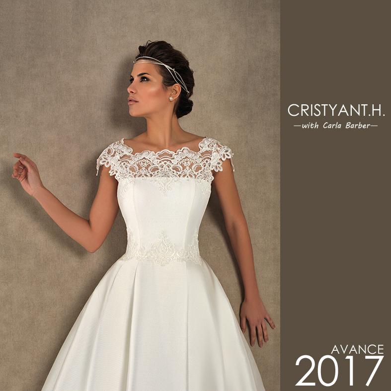 68575b165 CRISTYANTH  Colección exclusiva de novia 2017 - CRISTYANTH ...