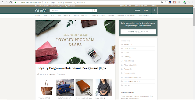 Loyalty Program Qlapa