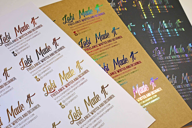 Foiled business card tutorial the font bundles blog 24 when you attach the card stock to your cutting mat make sure that you place the card exactly at the top left of the mat and it is places straight colourmoves