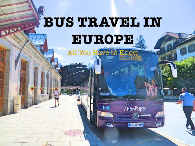 Bus travel in Europe