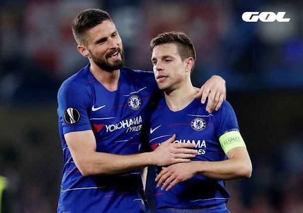 Eintracht y Chelsea luchan por estar en la final de la UEFA Europa League - este jueves por Gol -