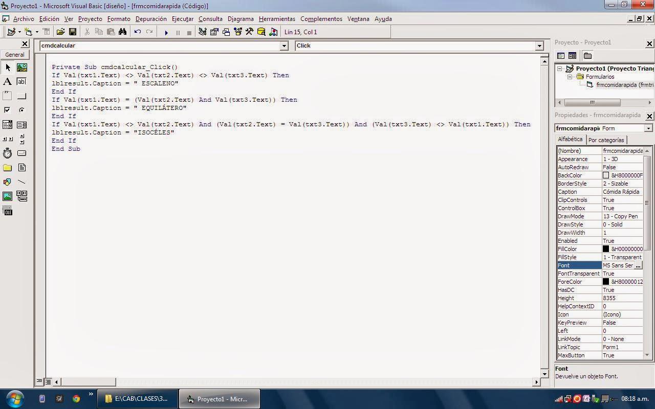 Variables y Operadores de Visual Basic: Anatomía de una sentencia en ...