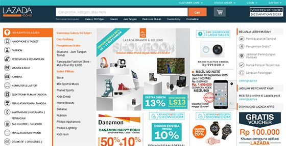 Toko Online Populer dan terbaik di Indonesia - Faezya Blog