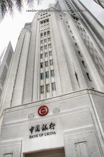 Bank of China, Raffles Place, Singapore
