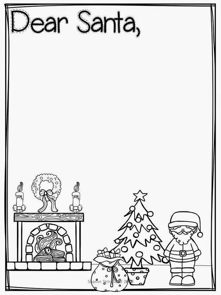 Super Second Grade Smarties: Letter to Santa Freebie!