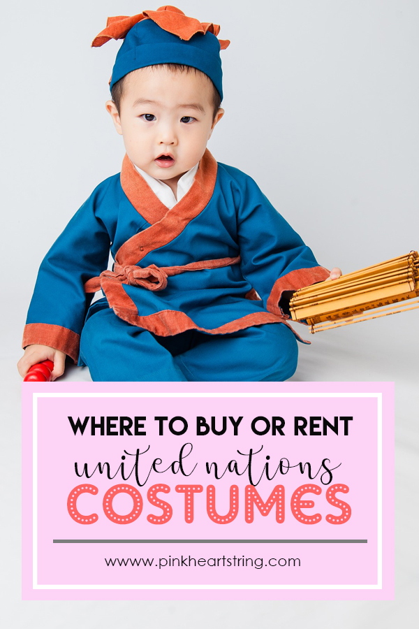 Where to Buy or Rent United Nations Costumes For Your Kids in PH