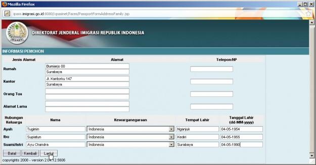 Cara membuat Paspor online di Surabaya
