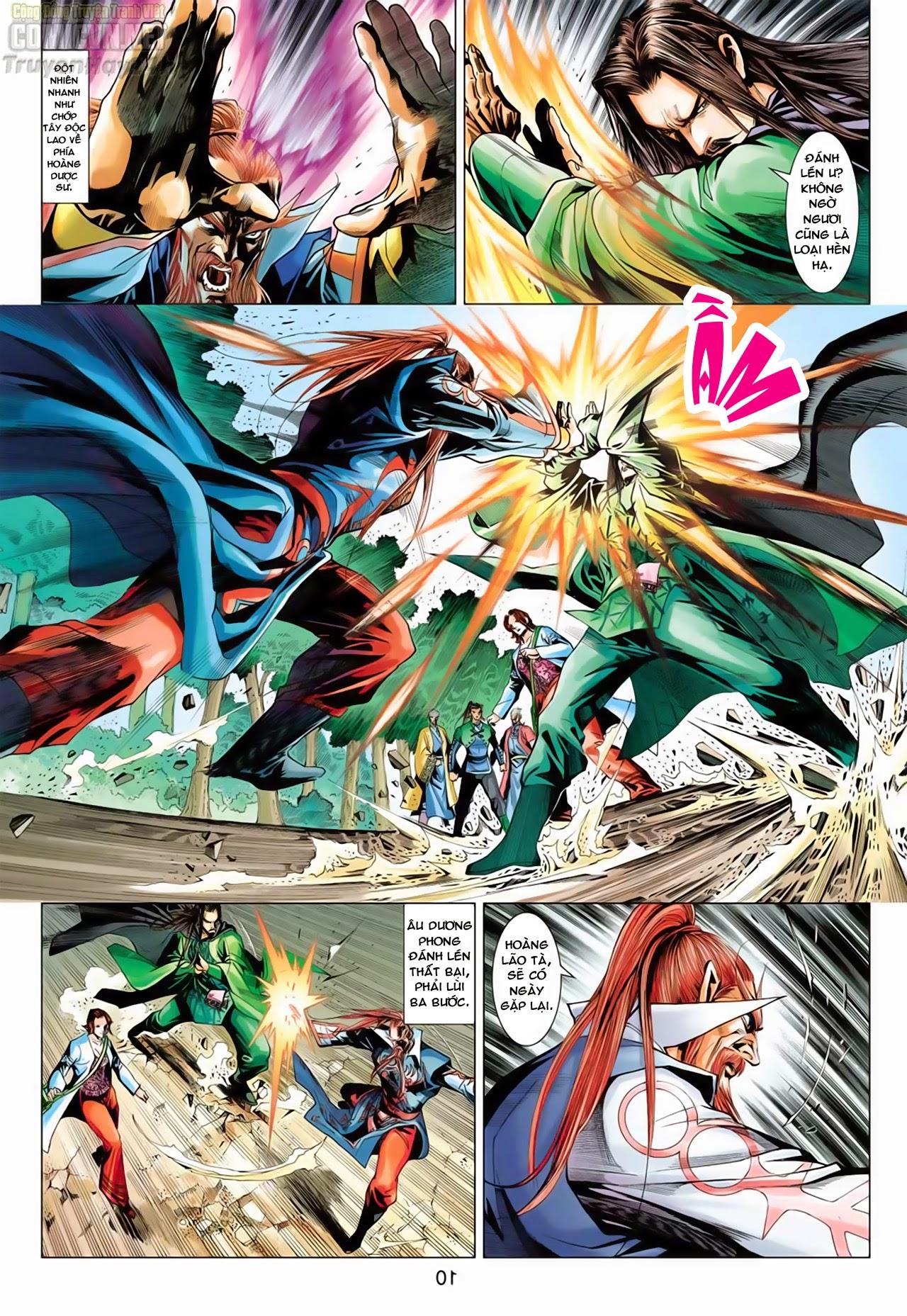 Anh Hùng Xạ Điêu anh hùng xạ đêu chap 65: cái bang tân chủ trang 10