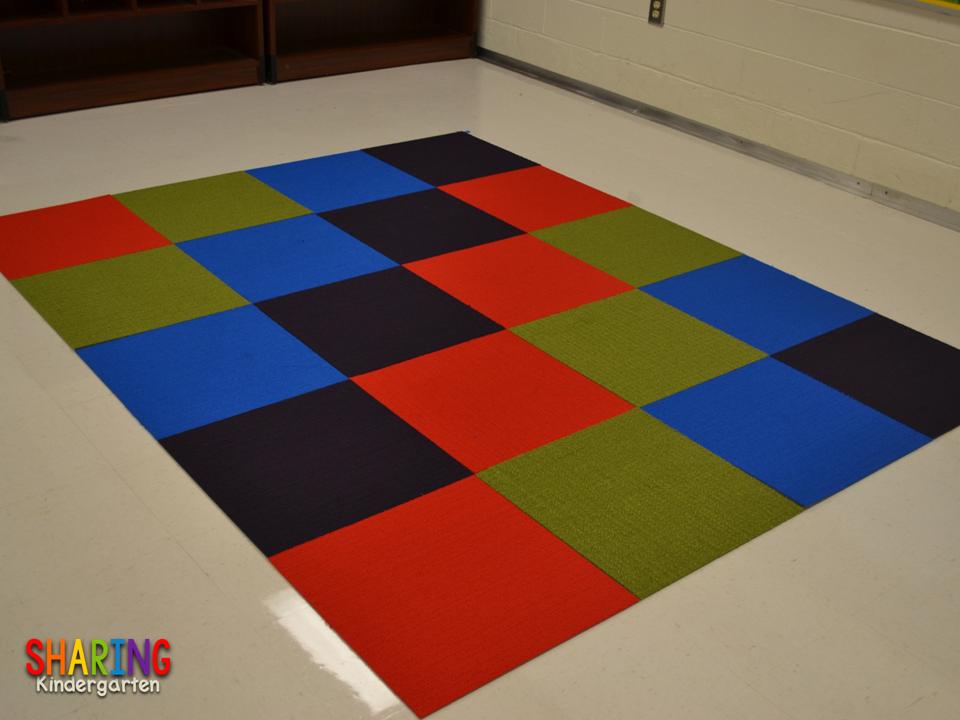 How To Create A Unique Classroom Carpet Sharing Kindergarten