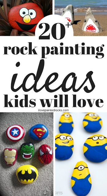 Need More Rock Painting Ideas For Kids