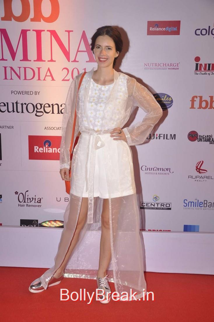 Kalki Koechlin, Femina Miss India 2015 Red Carpet Photo Gallery