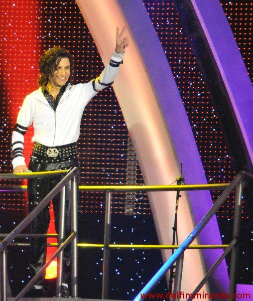 Delfim Miranda - Michael Jackson Tribute - Before the performance - Live on TV - TVI / Endemol